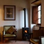Morso Wood-burner in luxury holiday rental Tuscany