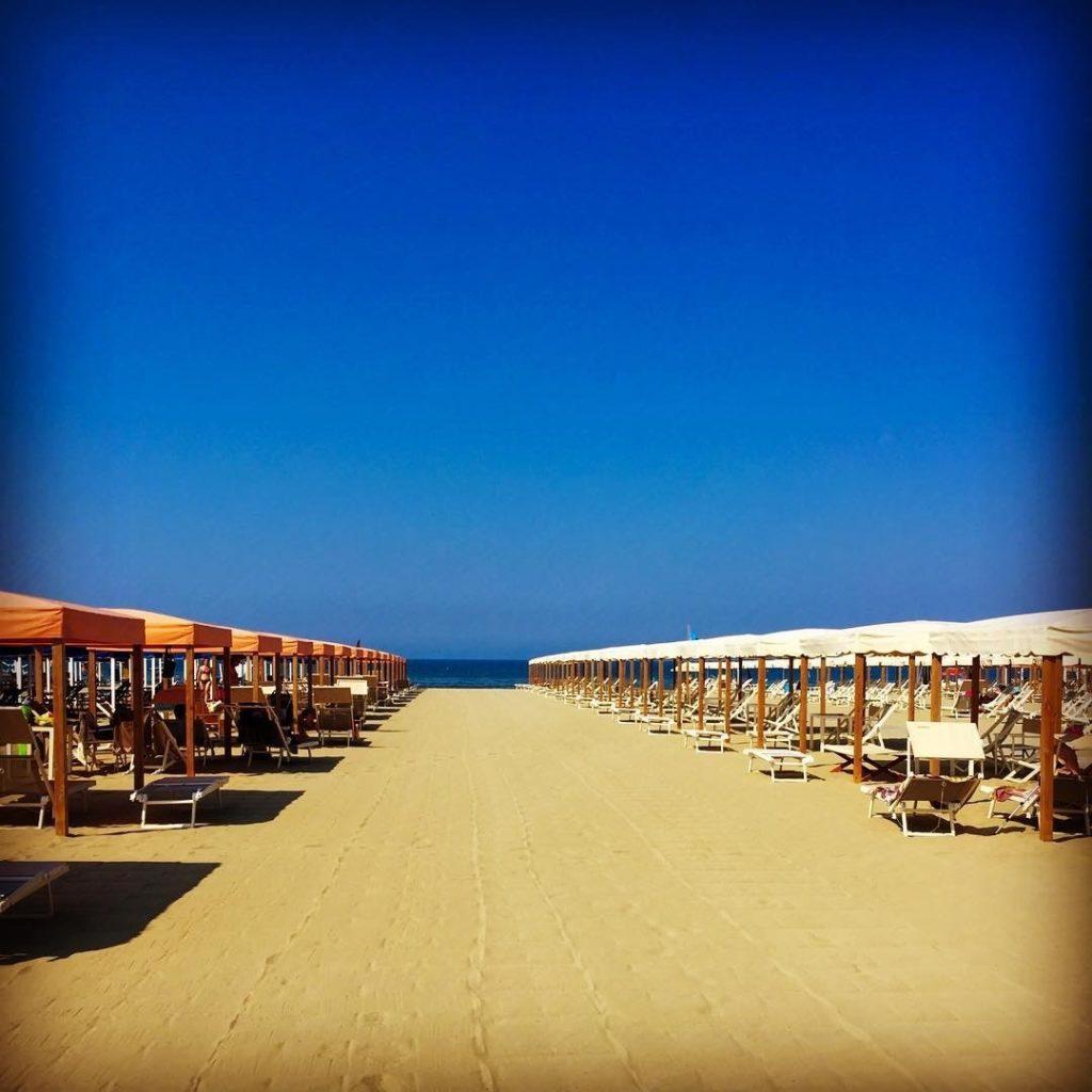 Beach at Versilia