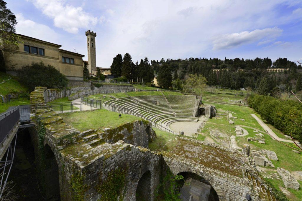 Fiesole Tuscany amphitheatre