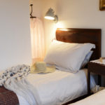 Luxury bedroom in Tuscany holiday rental