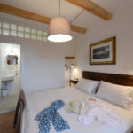 Super-king bedroom in Tuscany holiday rental