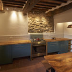luxury kitchen in Tuscany holiday rental