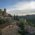 Views from luxury rental Sorana Tuscany