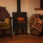 Woodburner in Tuscany holiday rental